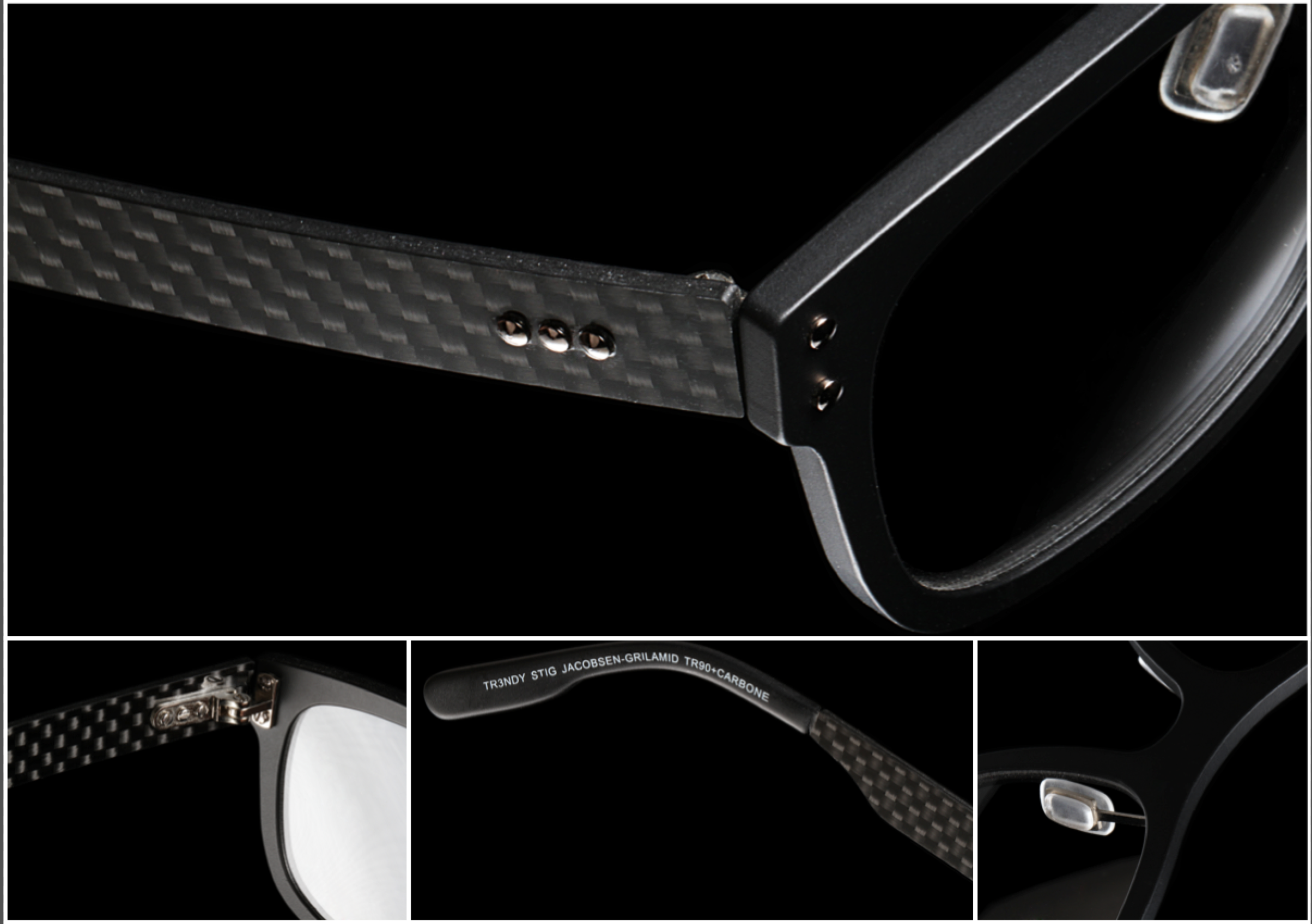 carbon fiber frames trioo eyewear prestige optical glasses